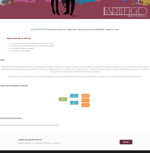 Artificio Project Management